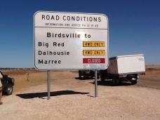 Desert sign