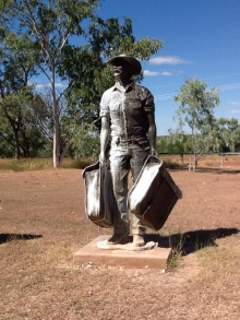 Drovers statue