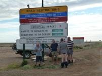 Birdsville Sign