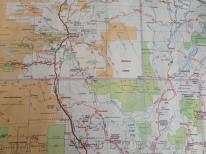 Map showing Poeppel Corner