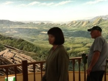 Viewing the panorama