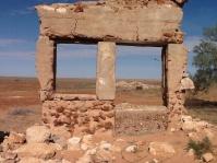 Mulga store ruins