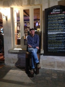 Malcolm in Hahndorf