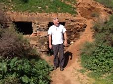 Miners' dugouts at Burra
