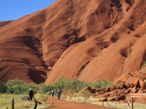 Shapes of Uluru