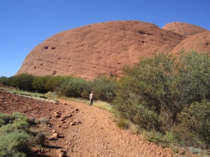 Path to Kata Tjuta