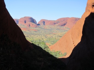 Window on another world at Kata Tjuta