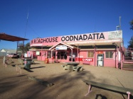 Pink Roadhouse at Oodnadatta