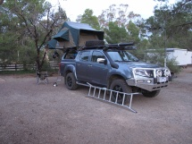ISUZU with tent