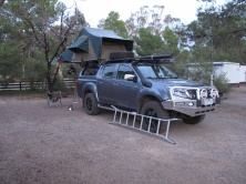 ISUZU with tent