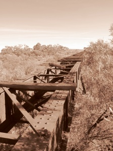 Old Ghan Bridge