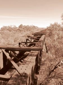 Old Ghan Bridge