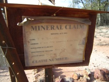 Grawin mineral claim