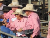 Auctioneers at Roma