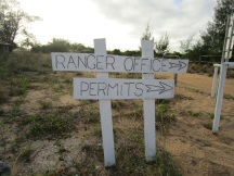 Pennefather ranger sign
