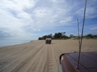 Pennefather beach Cape york