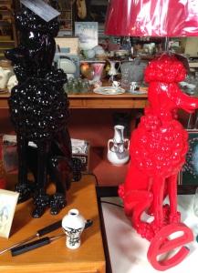 Maldon poodle lamps
