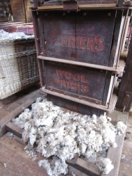 Wool press Hay
