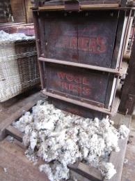 Wool press Hay