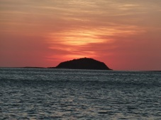 Sunset whitsundays