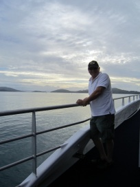 Richard on ferry