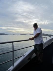 Richard on ferry