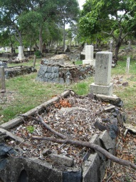 Japanese graves on Thursday Island