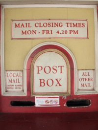 Cooktown post box