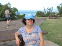 Deb at Cooktown