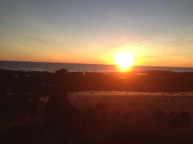 Indian Ocean sunset